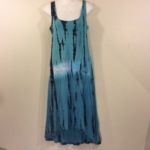 Tie dye dress, size small